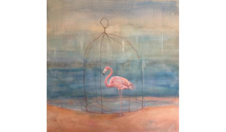 La cage du flamant rose